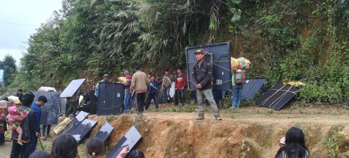 Laos, Phongsali, 2018